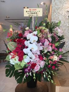 10周年お花