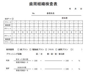 whitecross P検用紙